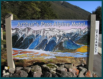 Welcome to Arthur's Pass Alpine Motel